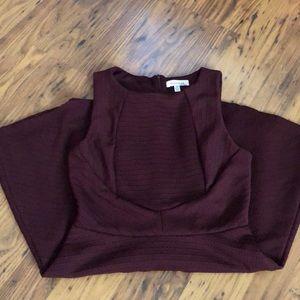 Monteau maroon dress, size medium